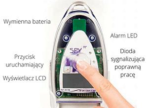 Rejestratory danych pomiarowych - radiowy rejestrator temperatury JRI.