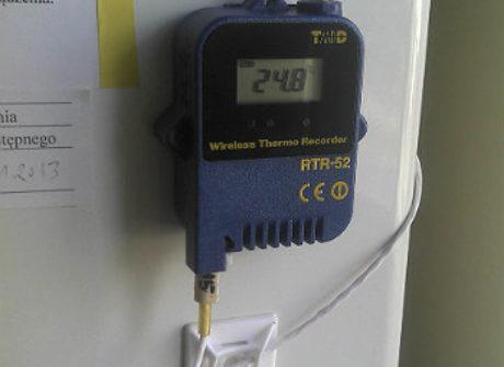 Rejestrator temperatury RTR-52A