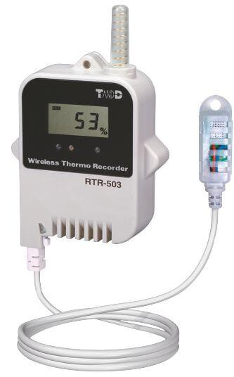 Radiowy rejestrator temperatury i wilgotności RTR-503, sonda zewnętrzna