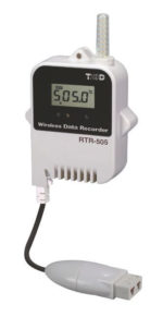Radiowy rejestrator temperatury RTR-505-TC, sonda zewnętrzna-termopara