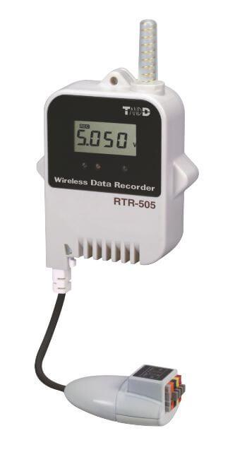 Radiowy rejestrator napięcRadiowy rejestrator napięcia RTR-505-Via RTR-505-V