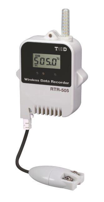 Radiowy rejestrator temperatury RTR-505-Pt, sonda zewnętrzna-PT100/PT100