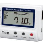 Dwukanałowy rejestrator temperatury TR-71nw z PoE i LAN (ethernet RJ45)