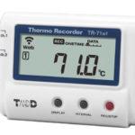 Dwukanałowy rejestrator temperatury TR-71wf z WiFi