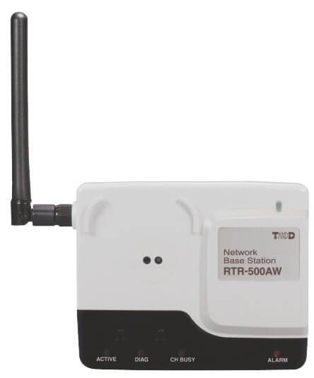 Baza odczytowa RTR-500AW – komunikacja przez WiFi