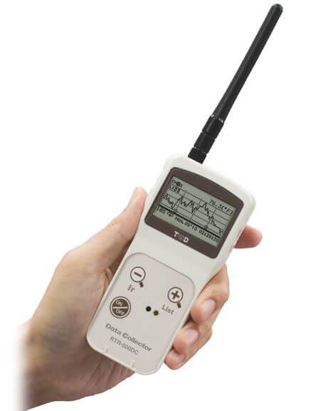 Przenośna baza odczytowa RTR-500DC – odczyt danych z dowolnego miejsca