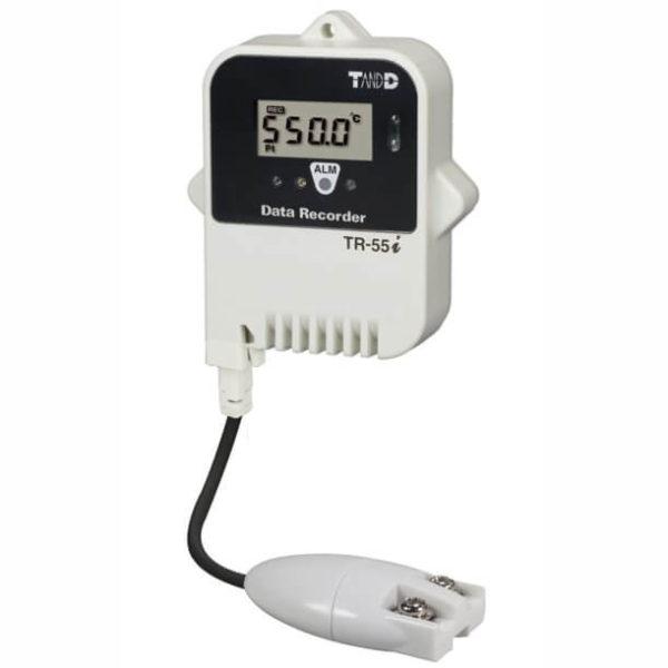 Rejestrator temperatury z sondą zewnętrzną TR-55i_Pt