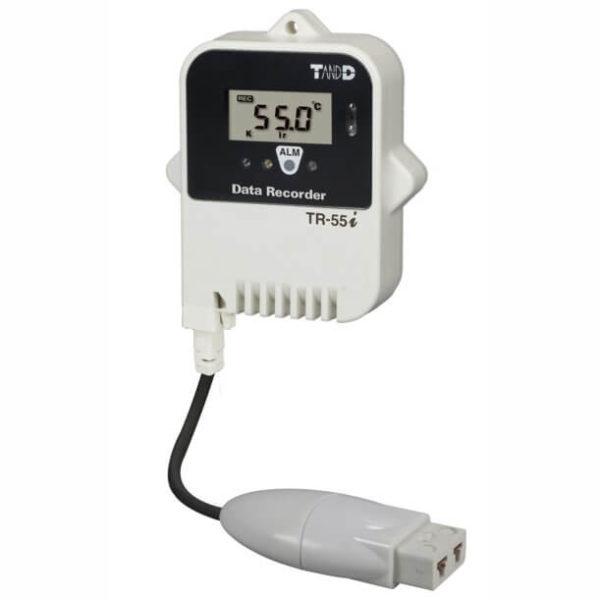 Rejestrator temperatury z sondą zewnętrzną TR-55i_TC