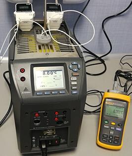 Kalibracja rejestratorów temperatury