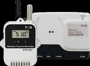 Radiowa seria rejestratorów RTR-500 - rejestrator zbazą